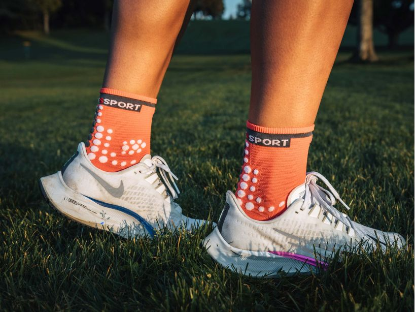 Pro Racing Socks v3.0 Run High - Coral