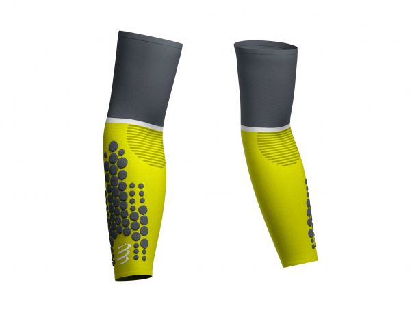ArmForce Ultralight - Manchettes de compression gris citron