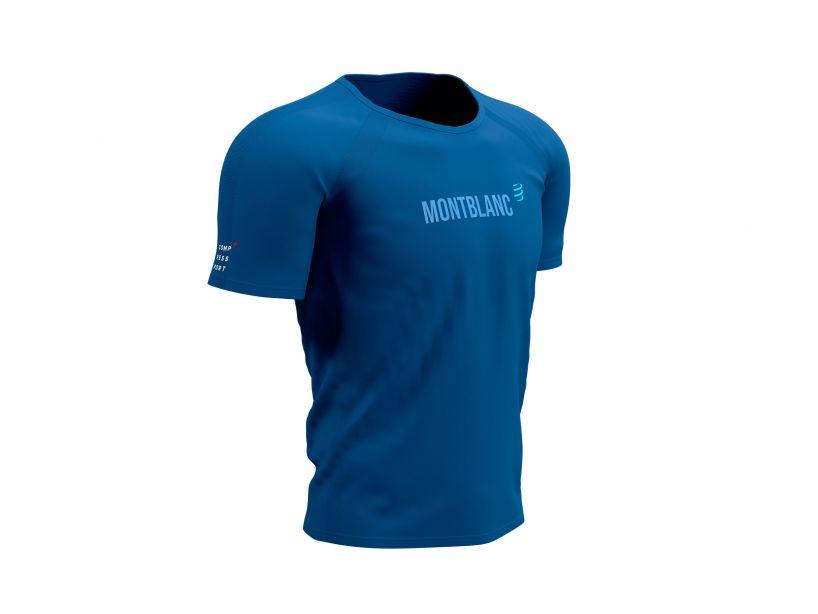 Training Tshirt SS - Mont Blanc 2021 BLUE