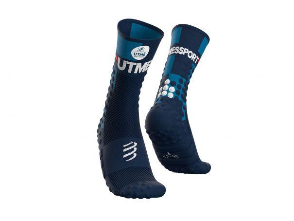 Pro Racing Socks v3.0 Ultra Trail - UTMB 2021 BLUE