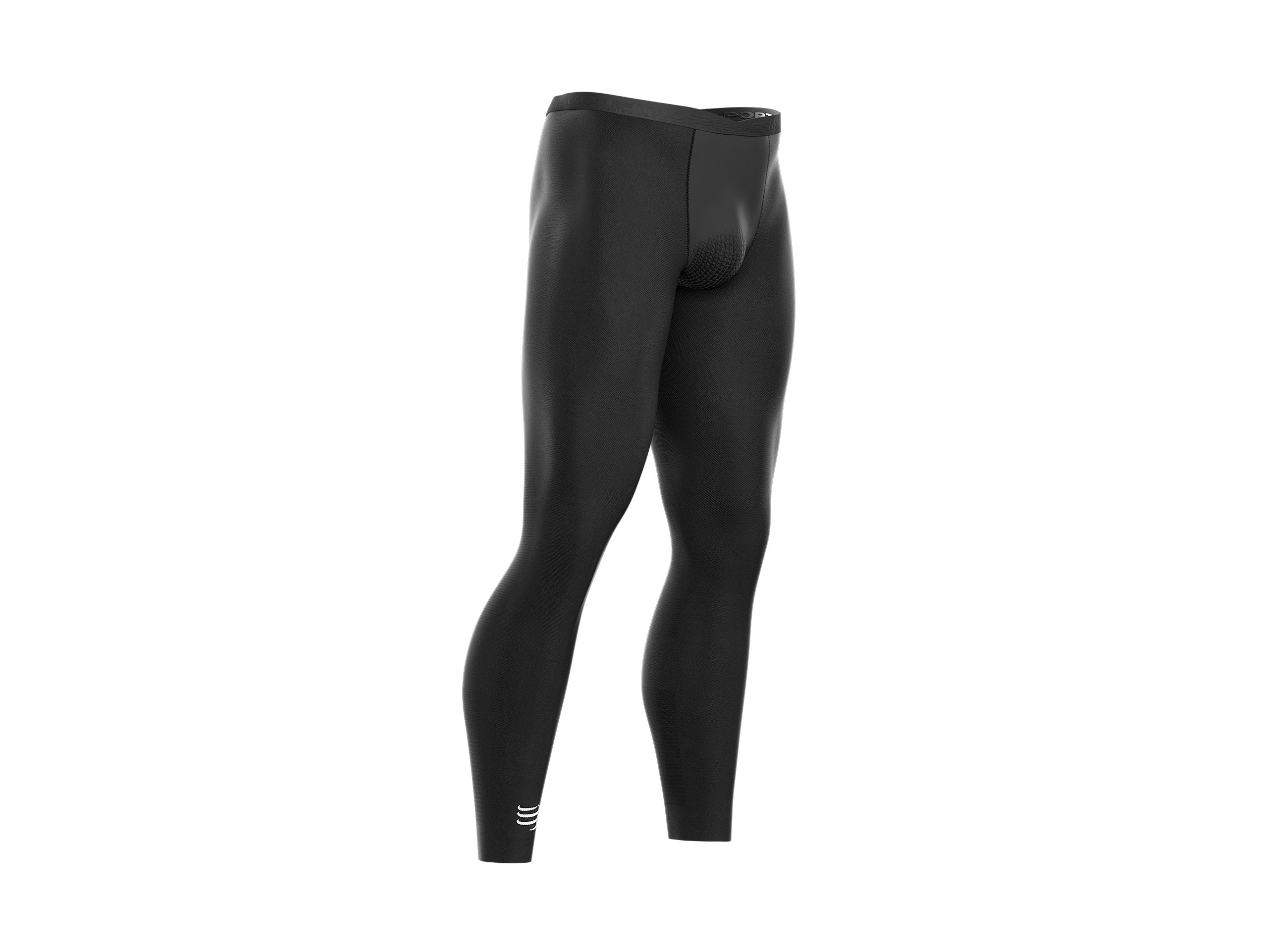 Running Under Control Full Tights schwarz