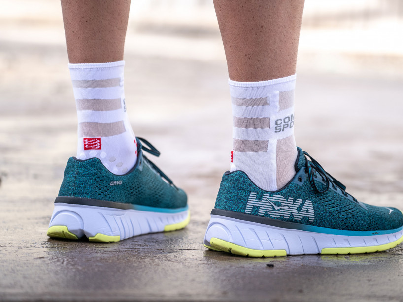 Pro Racing Socks v3.0 Run Ultralight Run High weiß