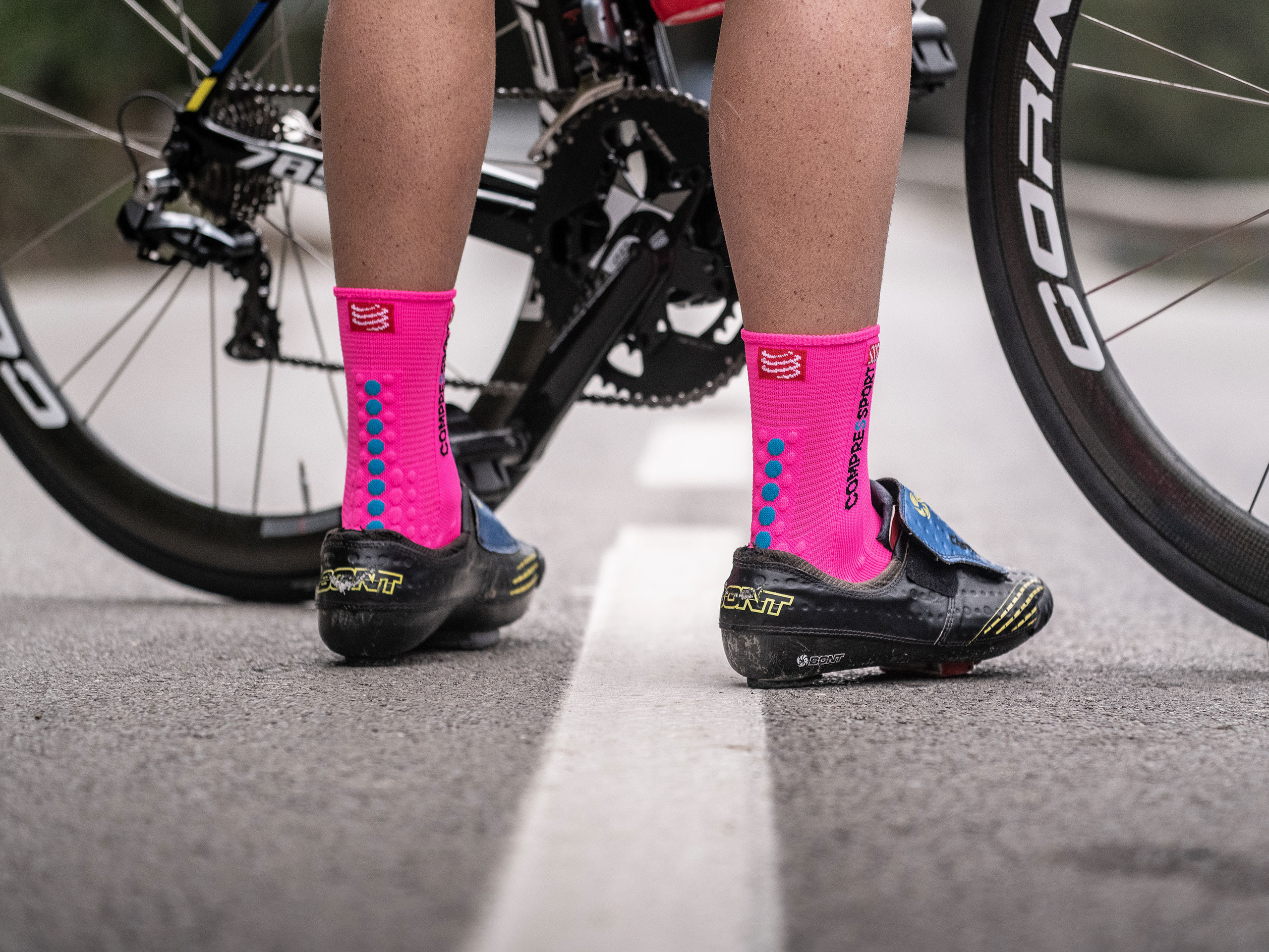 Pro Racing Socks v3.0 Bike neonpink