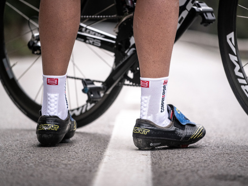Pro Racing Socks v3.0 Bike weiß