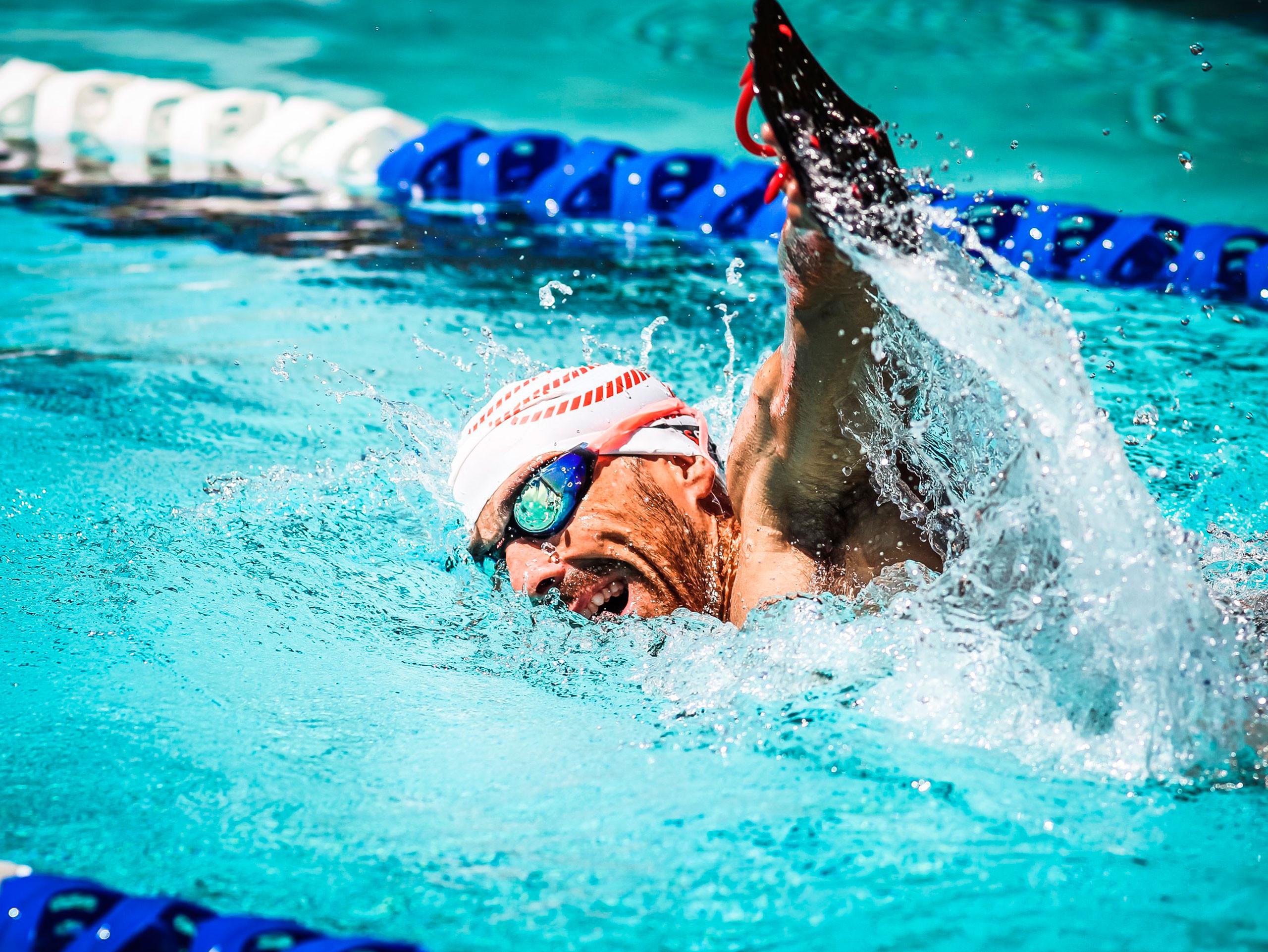 Swim Cap weiß