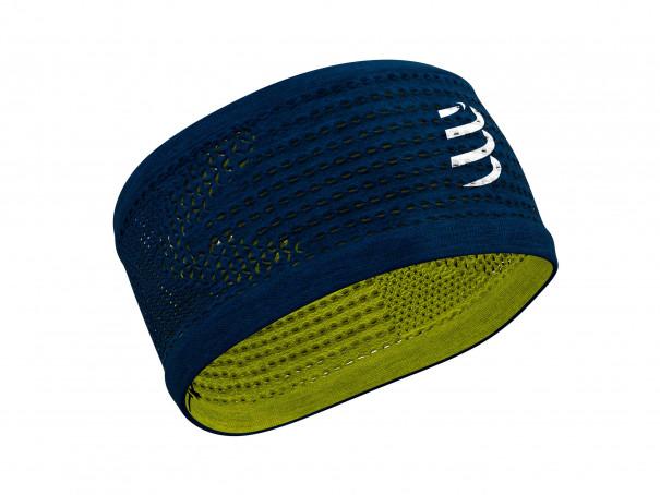 Headband On/Off blau/limonenfarben