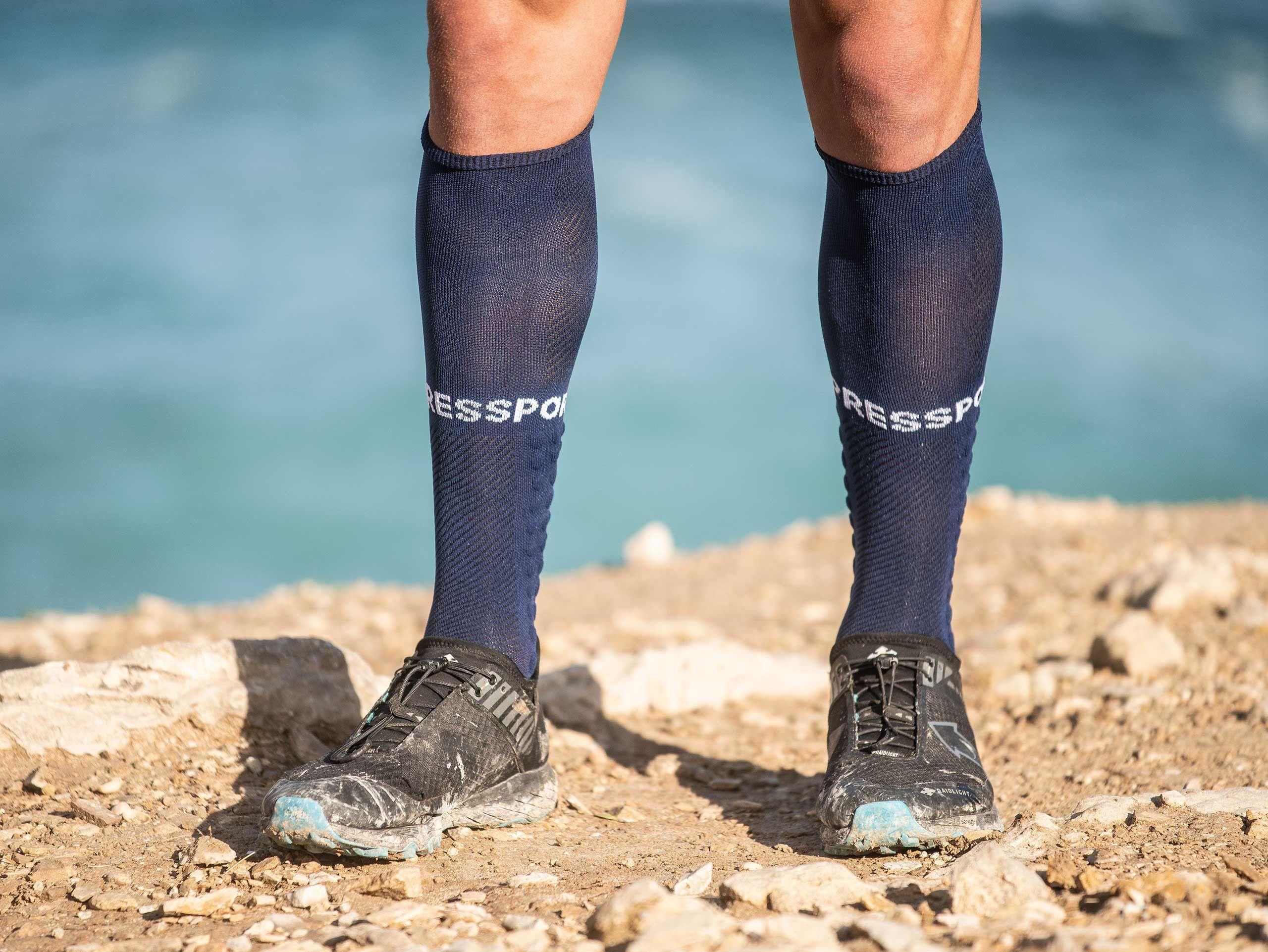 Full Socks Run blau