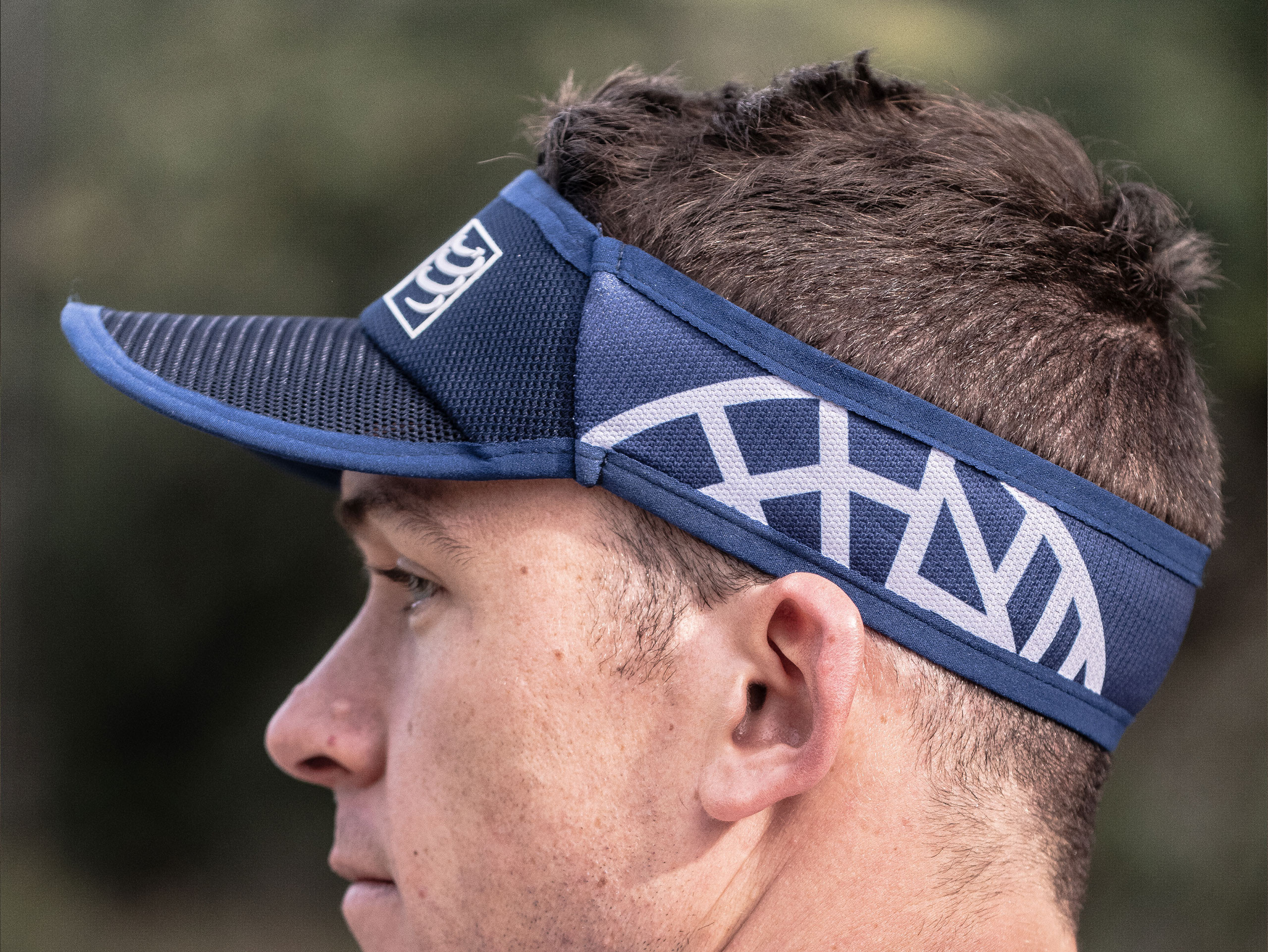 Spiderweb Ultralight Visor blau