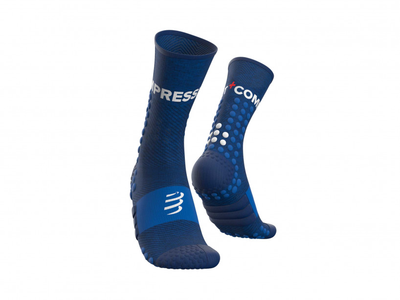 Ultra Trail Socks - blau-meliert
