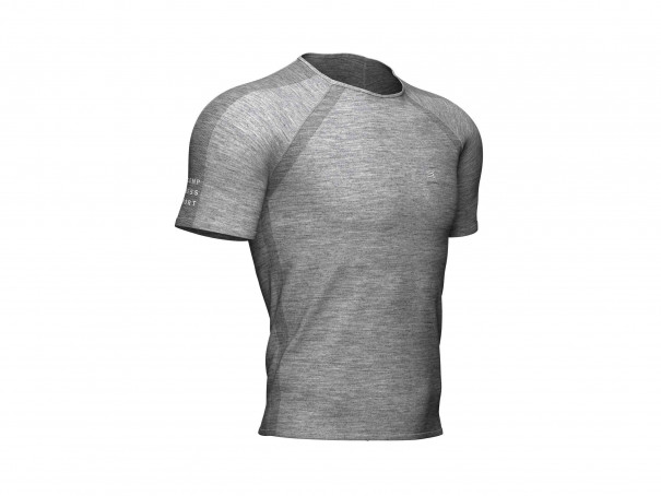 Training SS T-Shirt grau-meliert