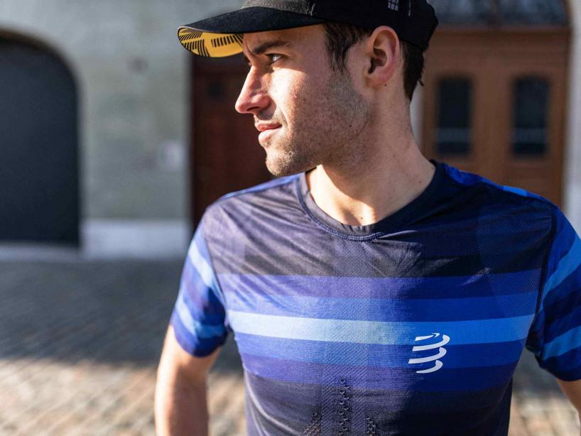 Racing SS T-Shirt blau