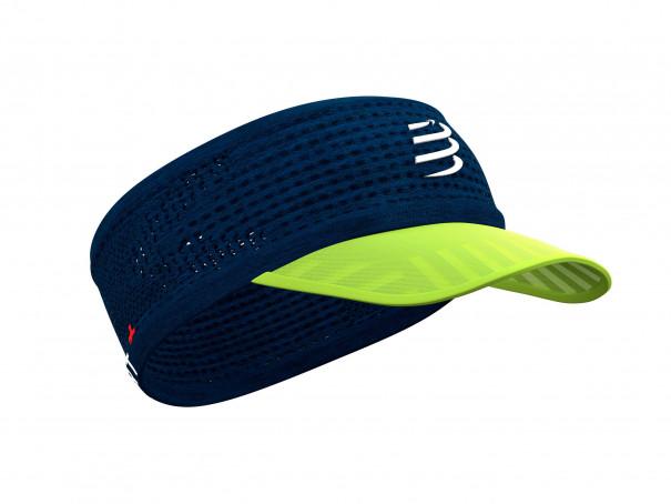 Spiderweb Headband On/Off blau/limonenfarben