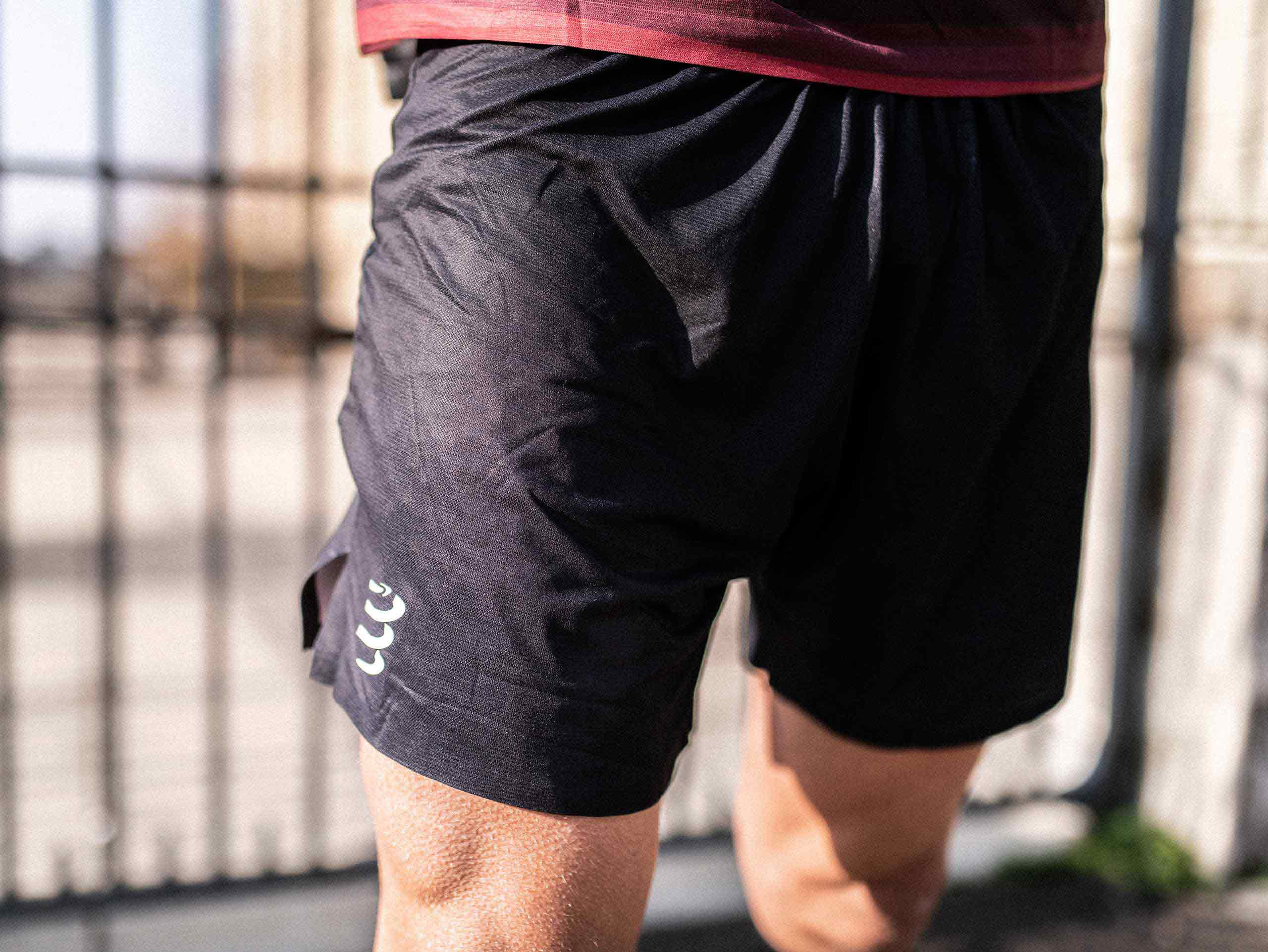 Performance Short schwarz