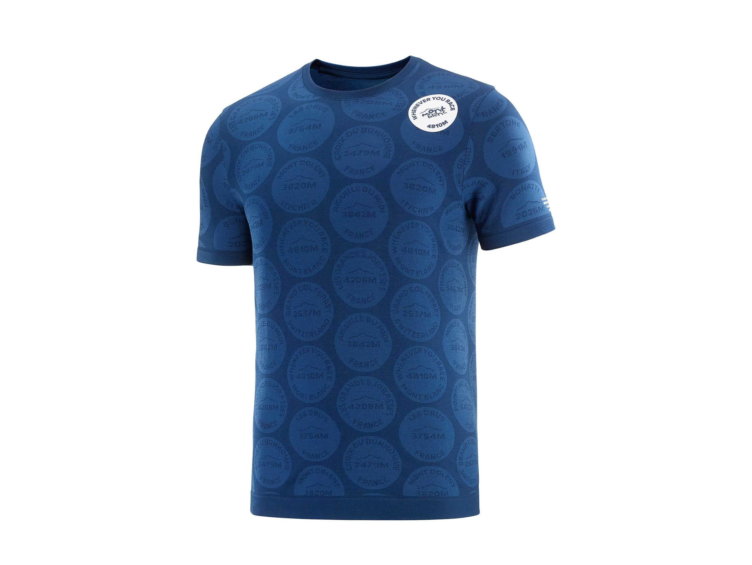 Training Tshirt SS Badges - Mont Blanc 2020