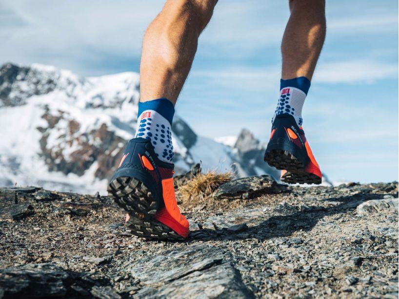Pro Racing Socks v3.0 Trail - White Lolite