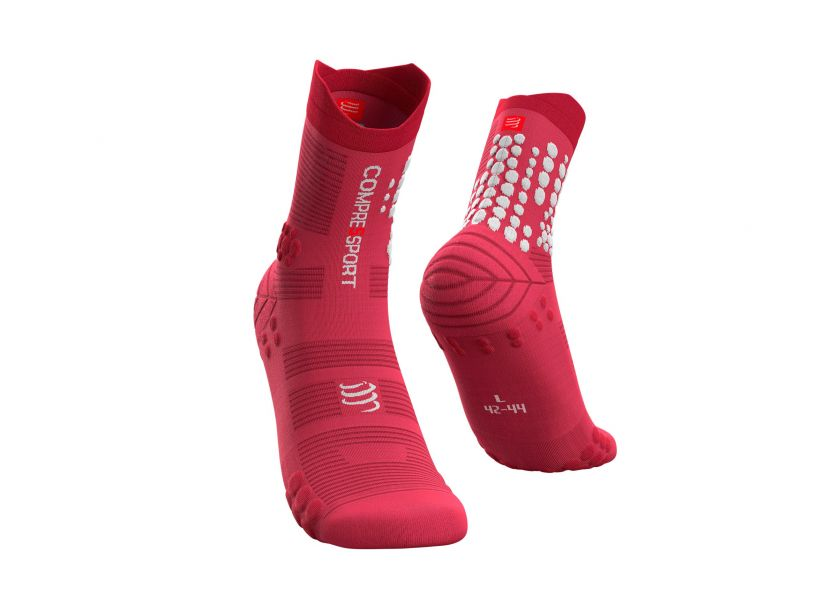 Pro Racing Socks v3.0 Trail - Garnet Rose