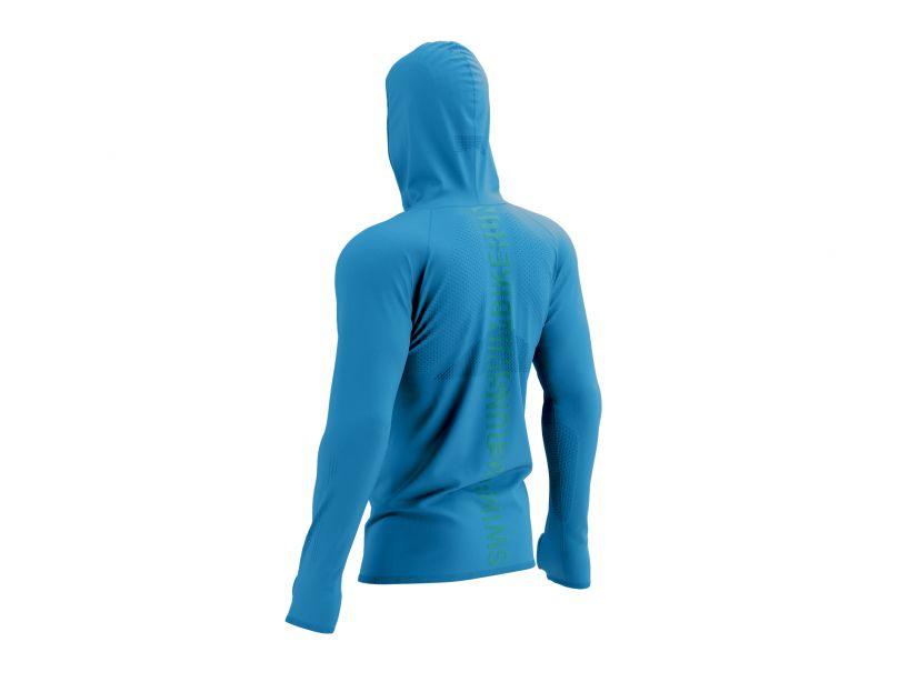 3D Thermo Seamless Hoodie Zip - Born To SwimBikeRun 2021
