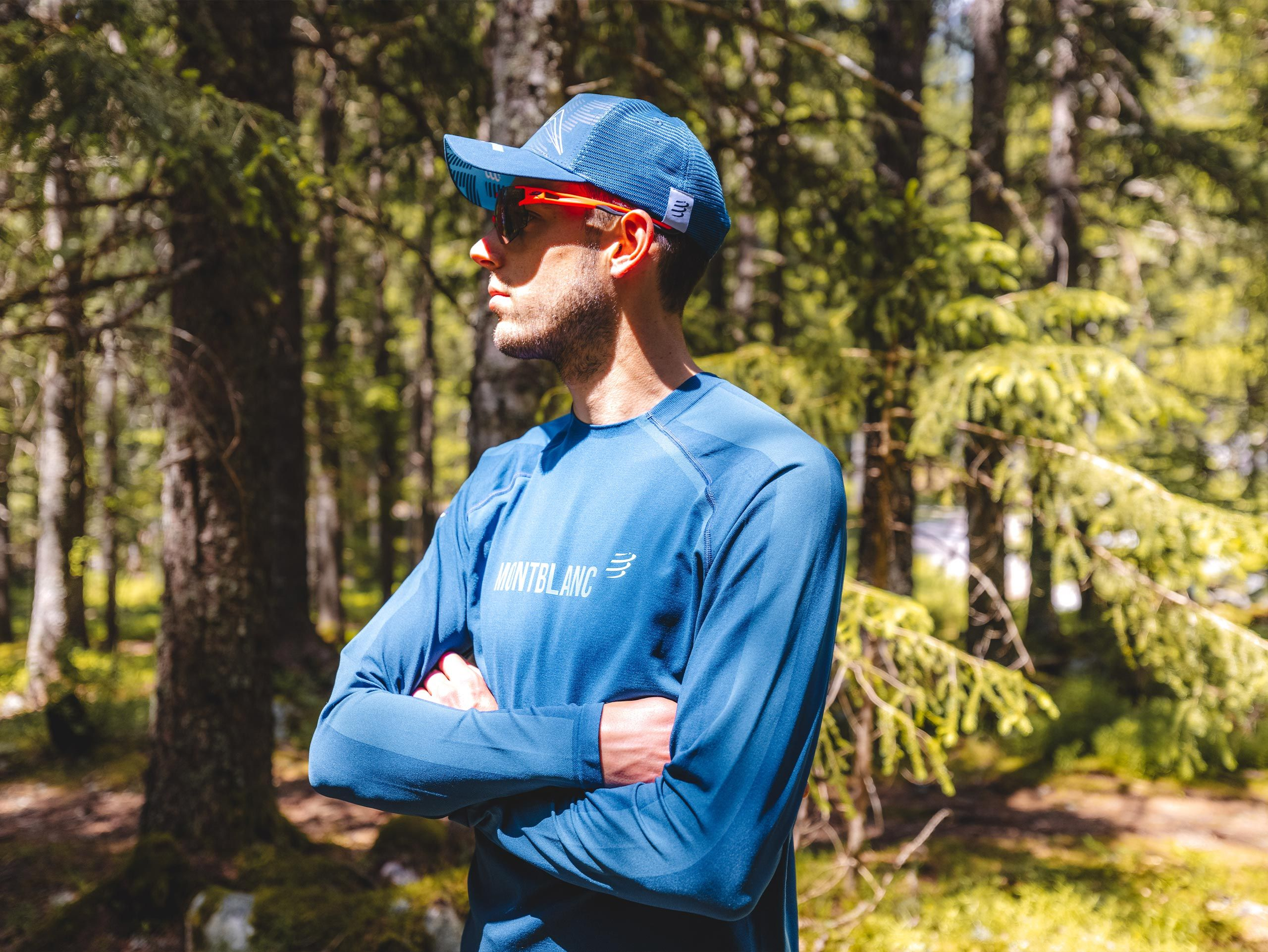 Training Tshirt LS - Mont Blanc 2021