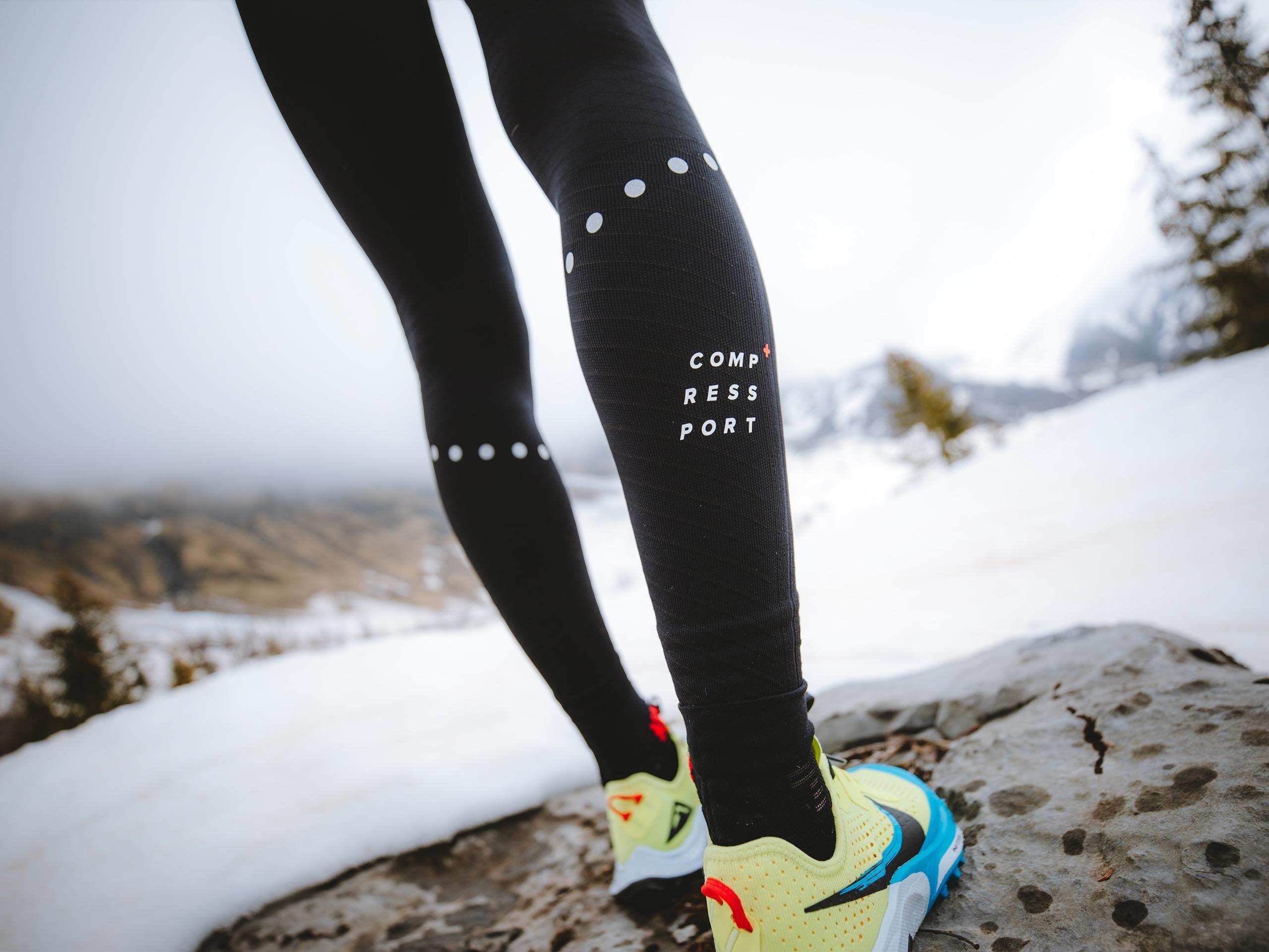 Winter Trail Under Control Full Tights W BLACK