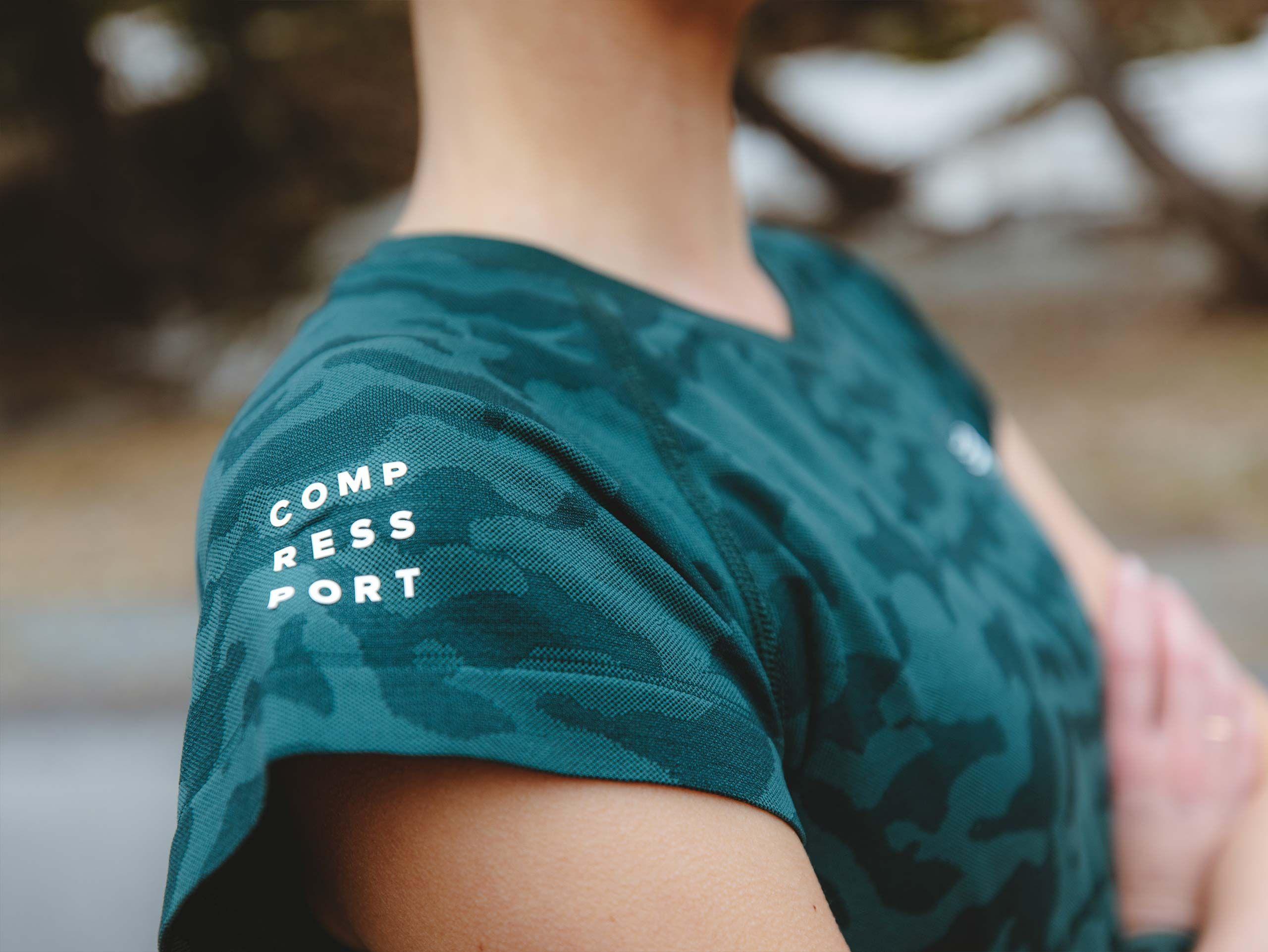 Training SS Tshirt W Camo Premium SILVER PINE