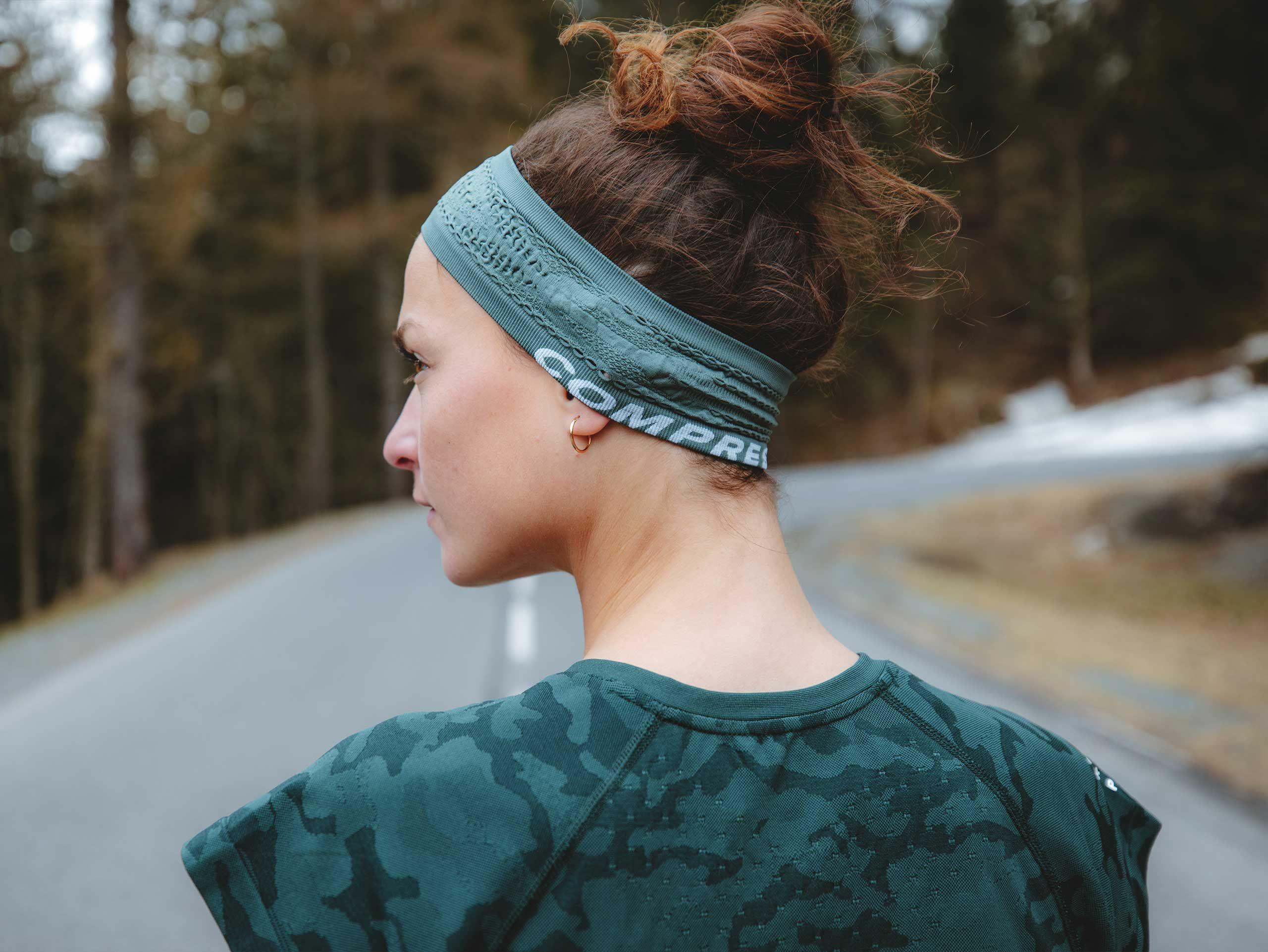Thin Headband On/Off SILVER PINE