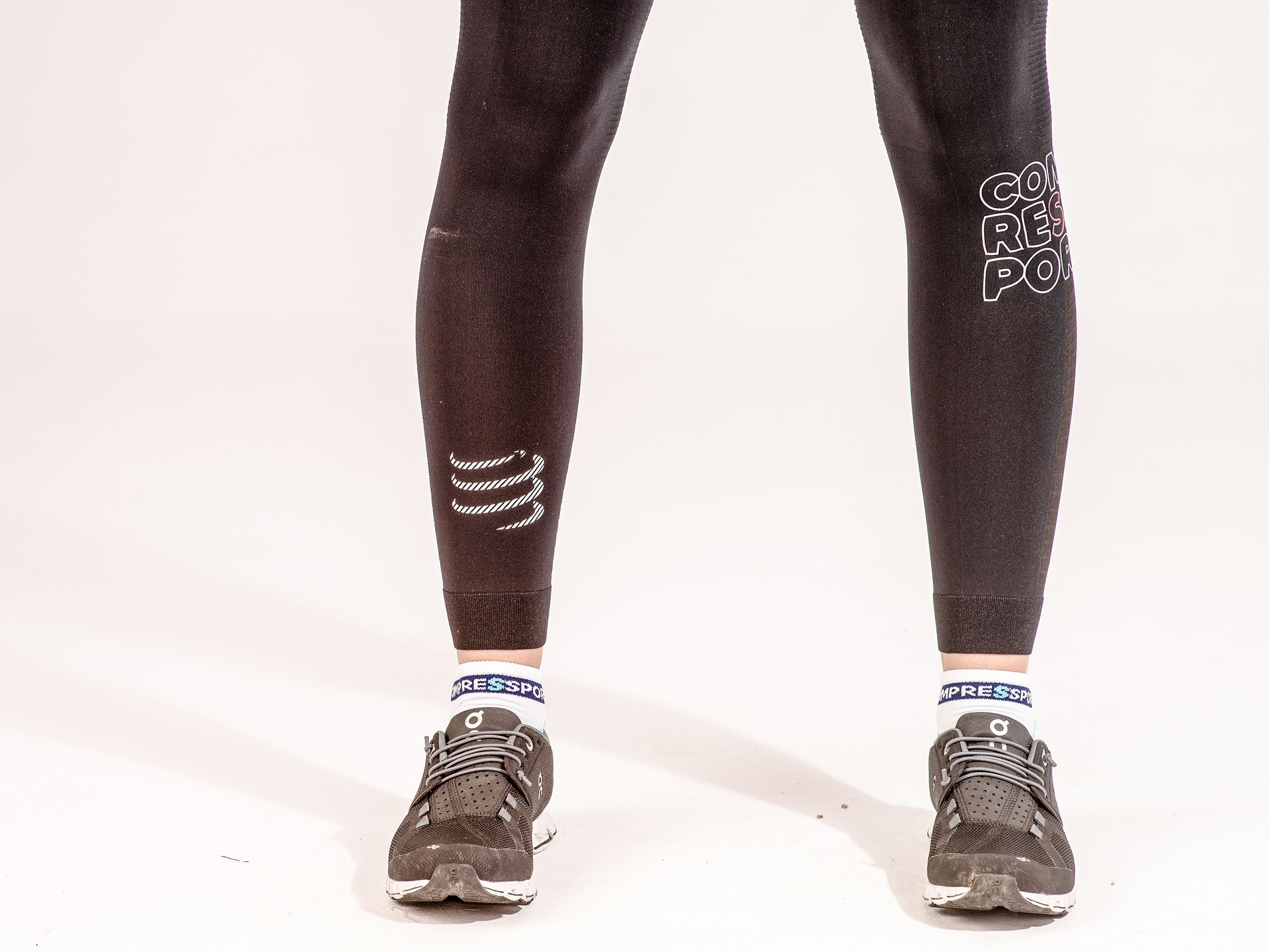 Mallas largas de running Under Control negras