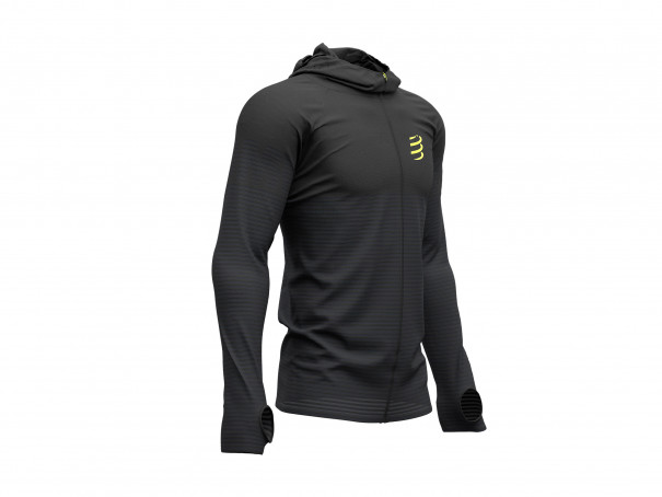 Sudadera 3D Thermo Seamless Zip - Black Edition 2019