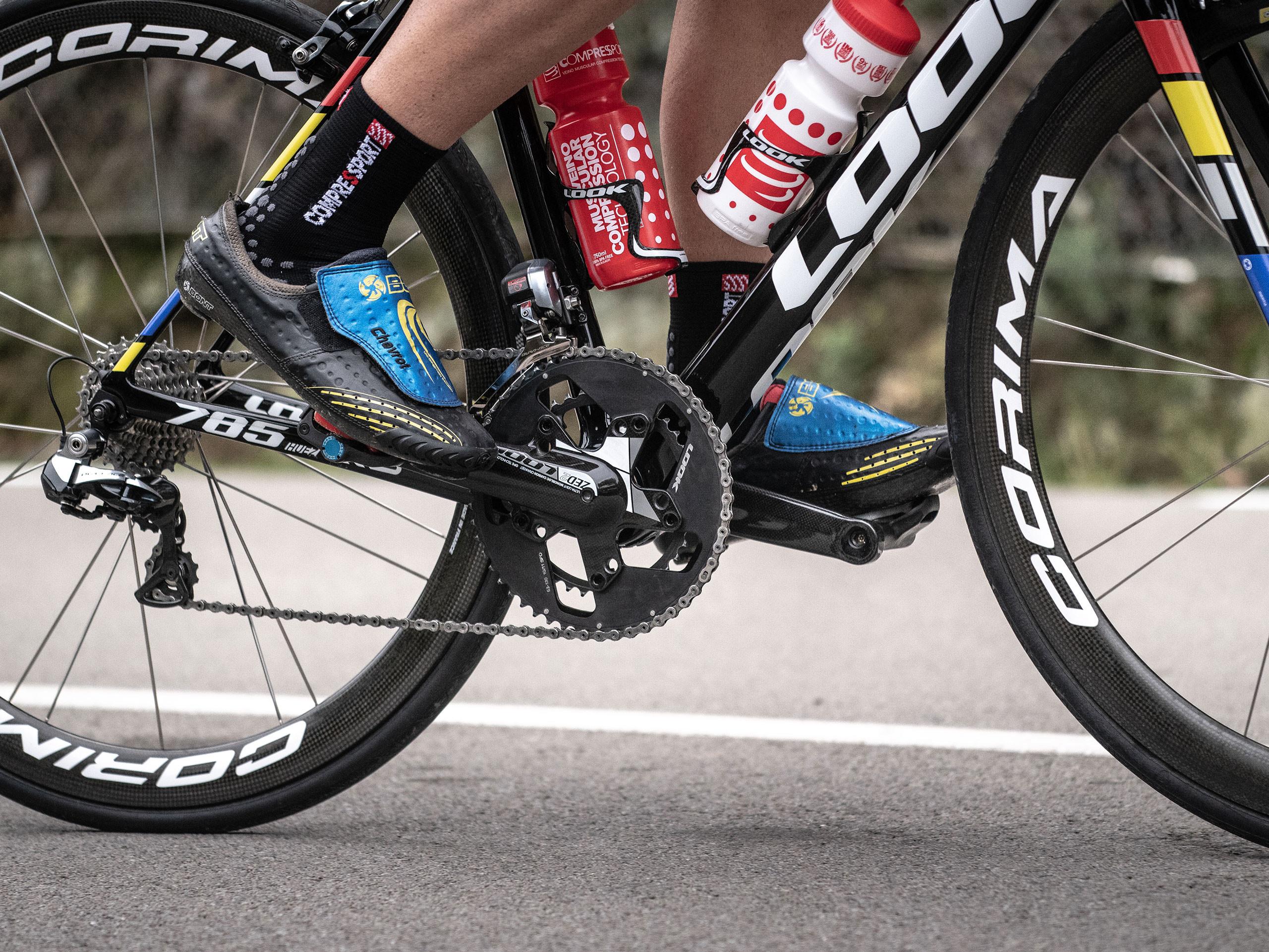 Calcetines deportivos pro v3.0 Bike negros