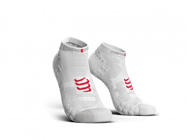 Calcetines deportivos pro v3.0 Run Low blancos