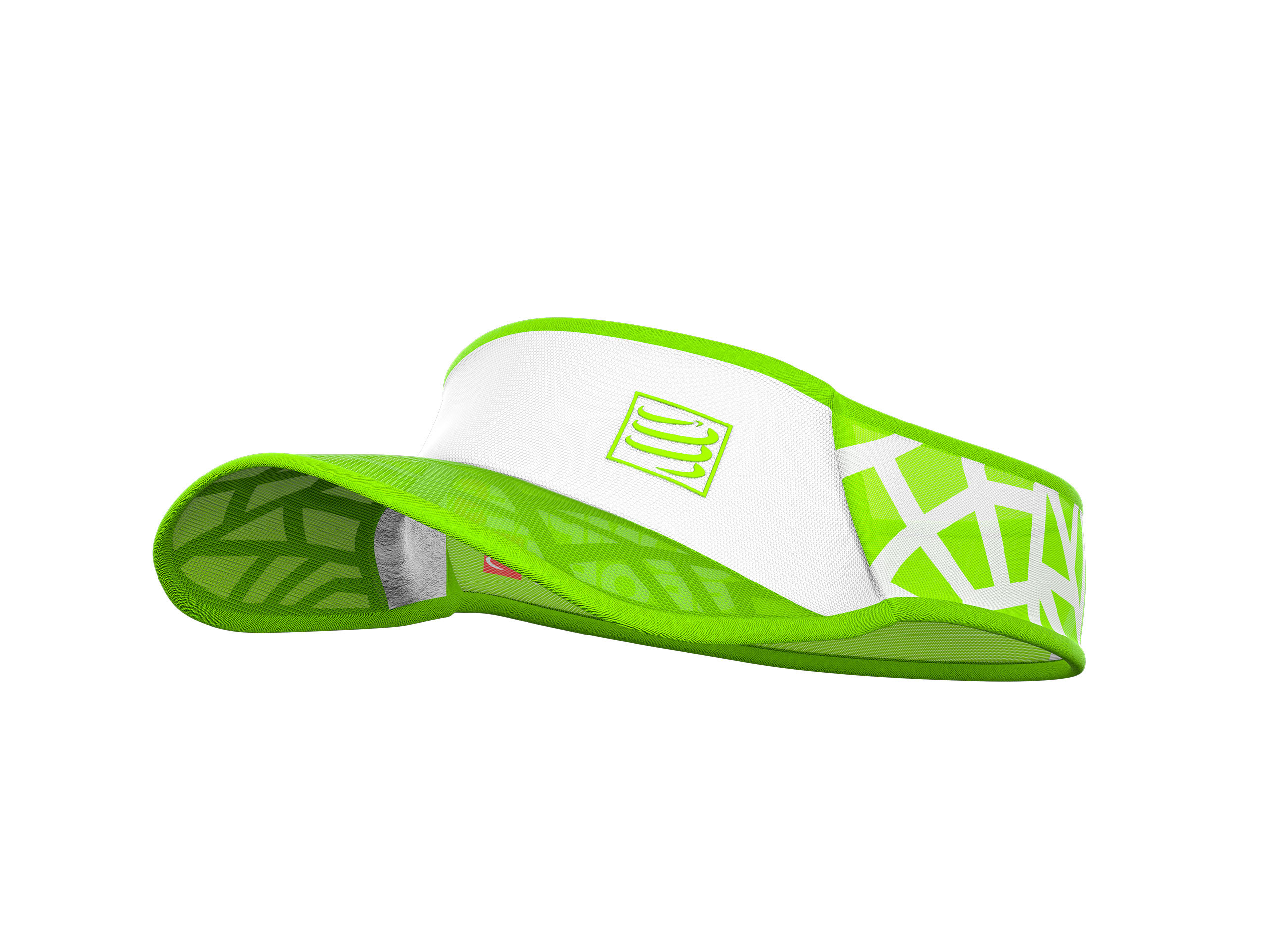 Visera Spiderweb Ultralight blanco/verde
