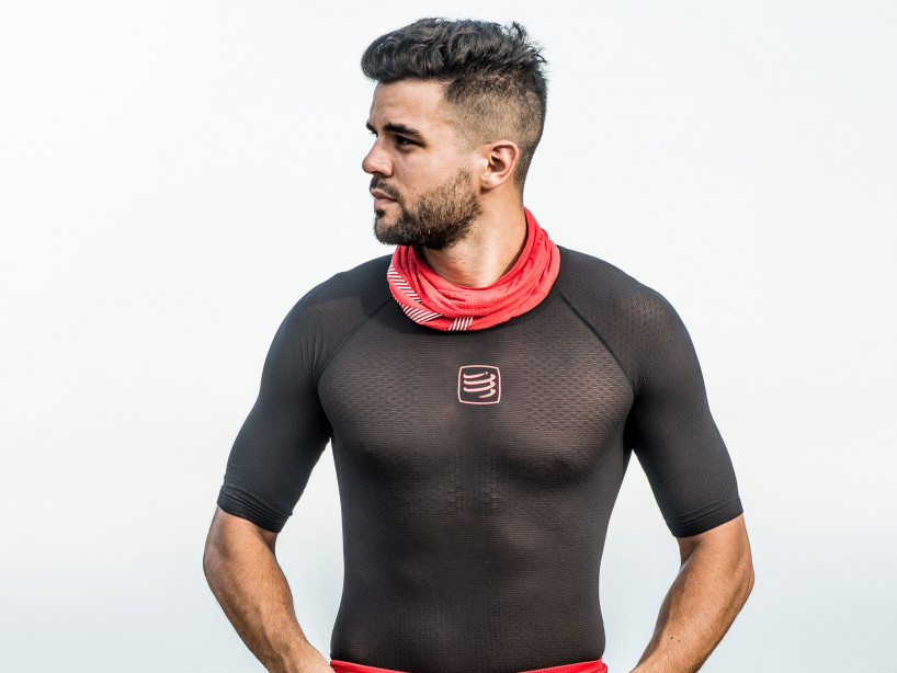 Camiseta 3D Thermo UltraLight MC negra