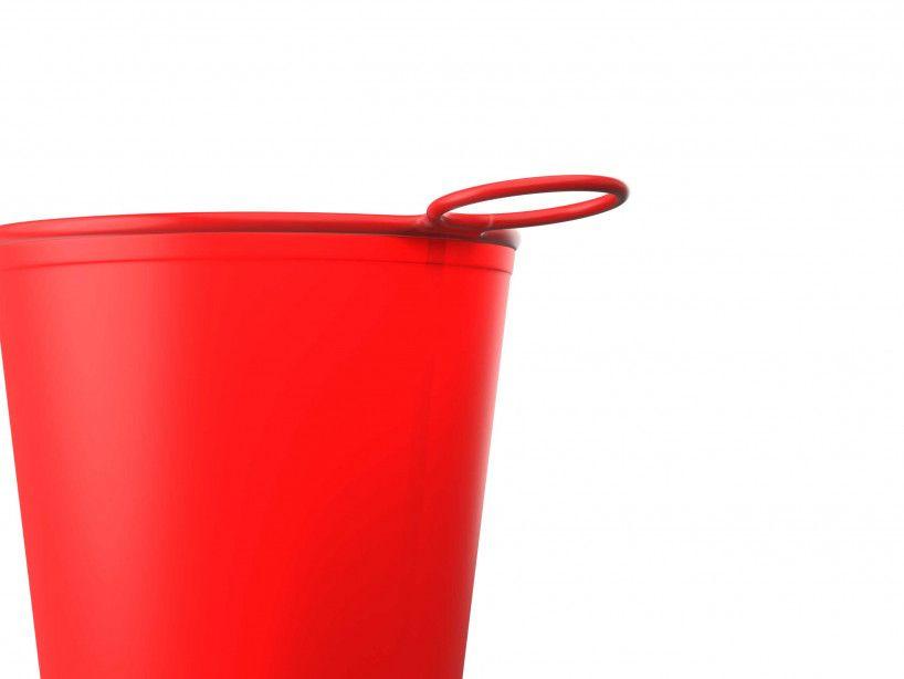 Vaso Fast Cup rojo