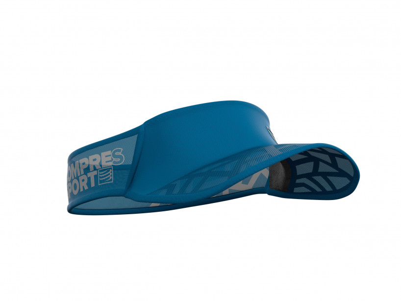 Visera Spiderweb Ultralight azul