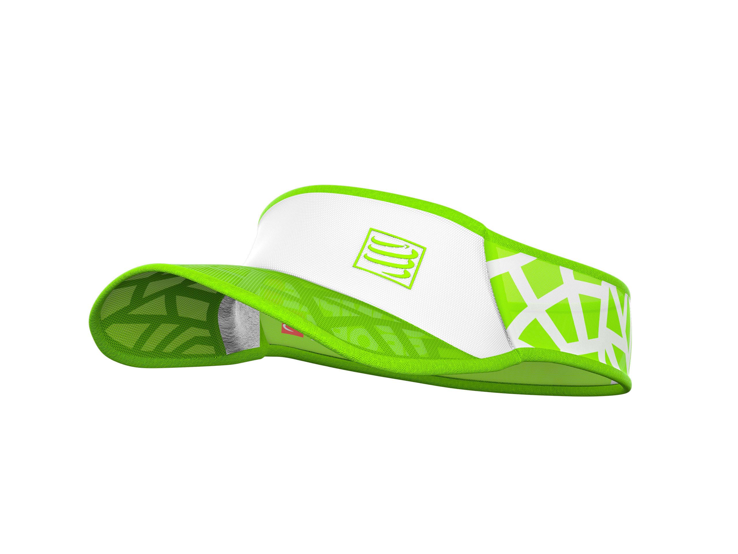Visera Spiderweb Ultralight blanco/verde