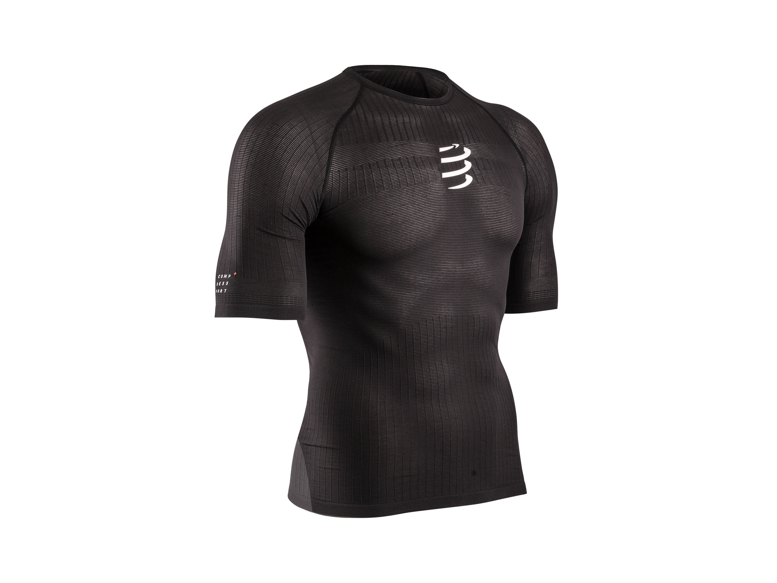 Camiseta 3D thermo 50 g MC negra