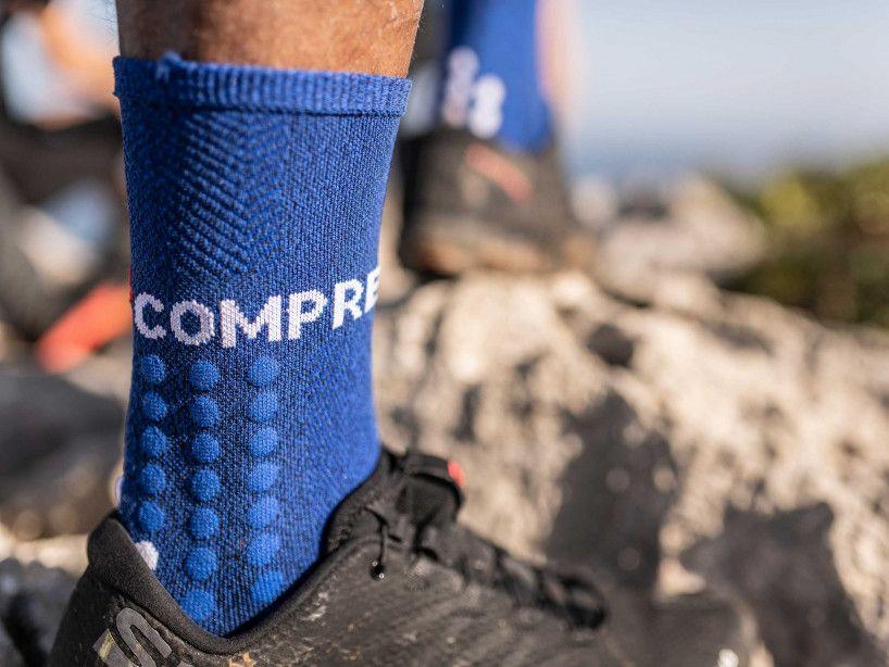 Calcetines Ultra Trail azul jaspeado