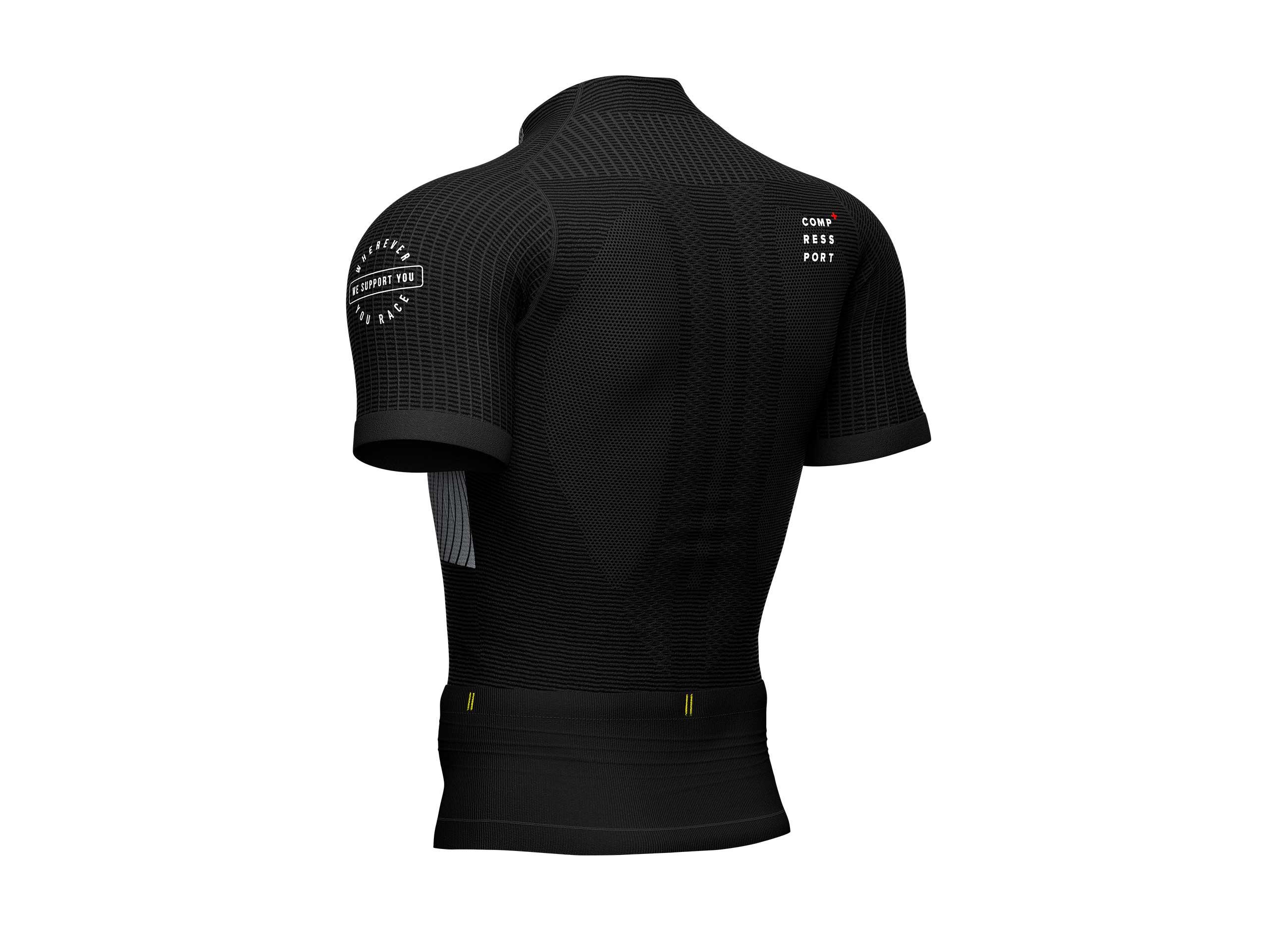 Camiseta Trail Postural MC negra