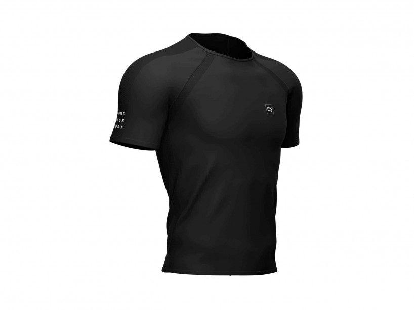 Camiseta de entrenamiento MC negra