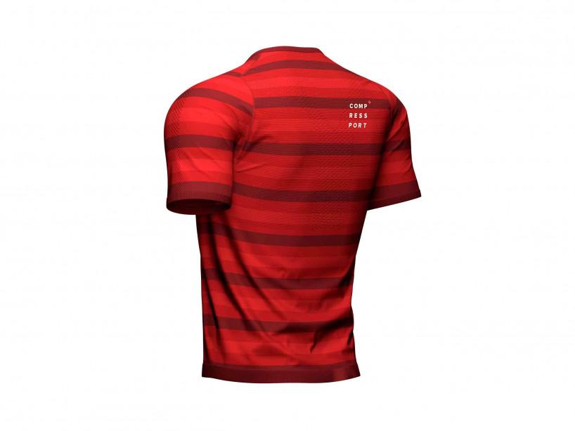 Camiseta de alto rendimiento MC roja