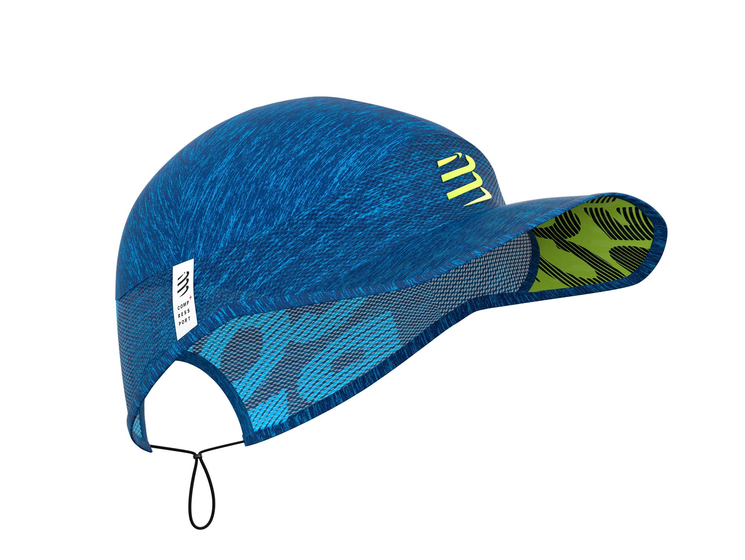 Gorra Pro Racing azul jaspeado