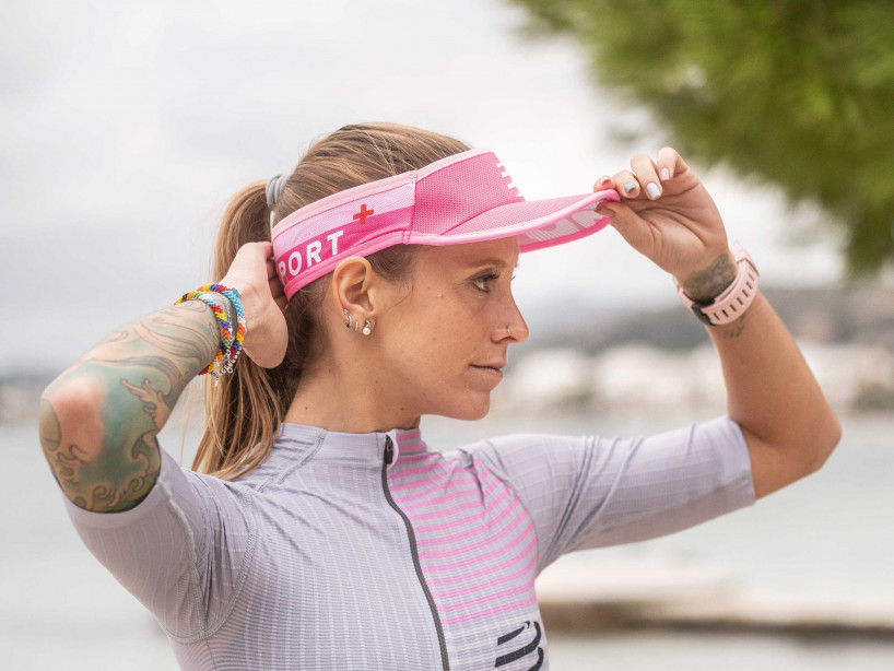 Visera Ultralight rosa