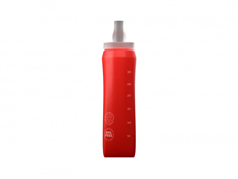 Botella ErgoFlask 300 ml roja