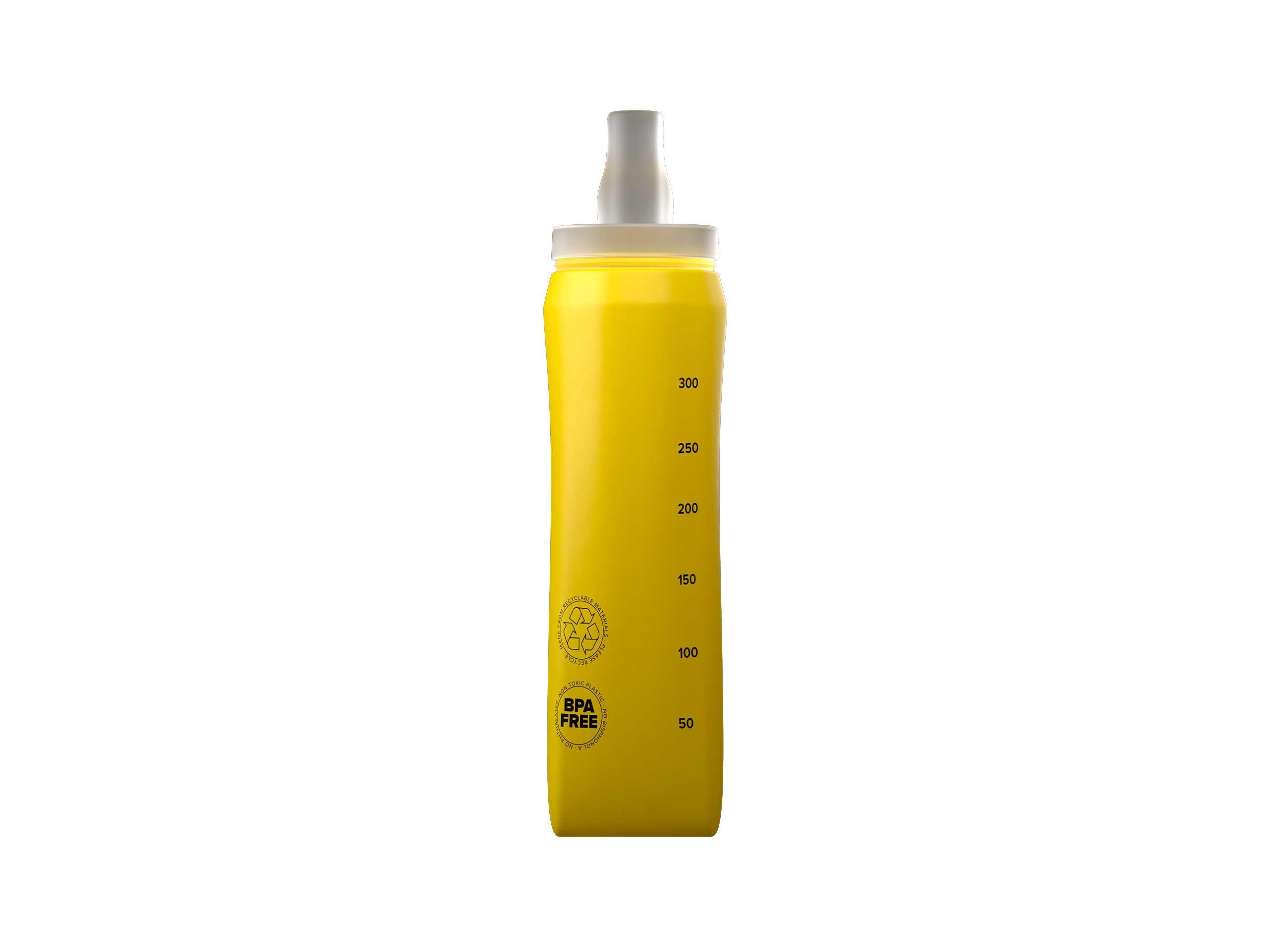 Botella ErgoFlask 300 ml amarilla