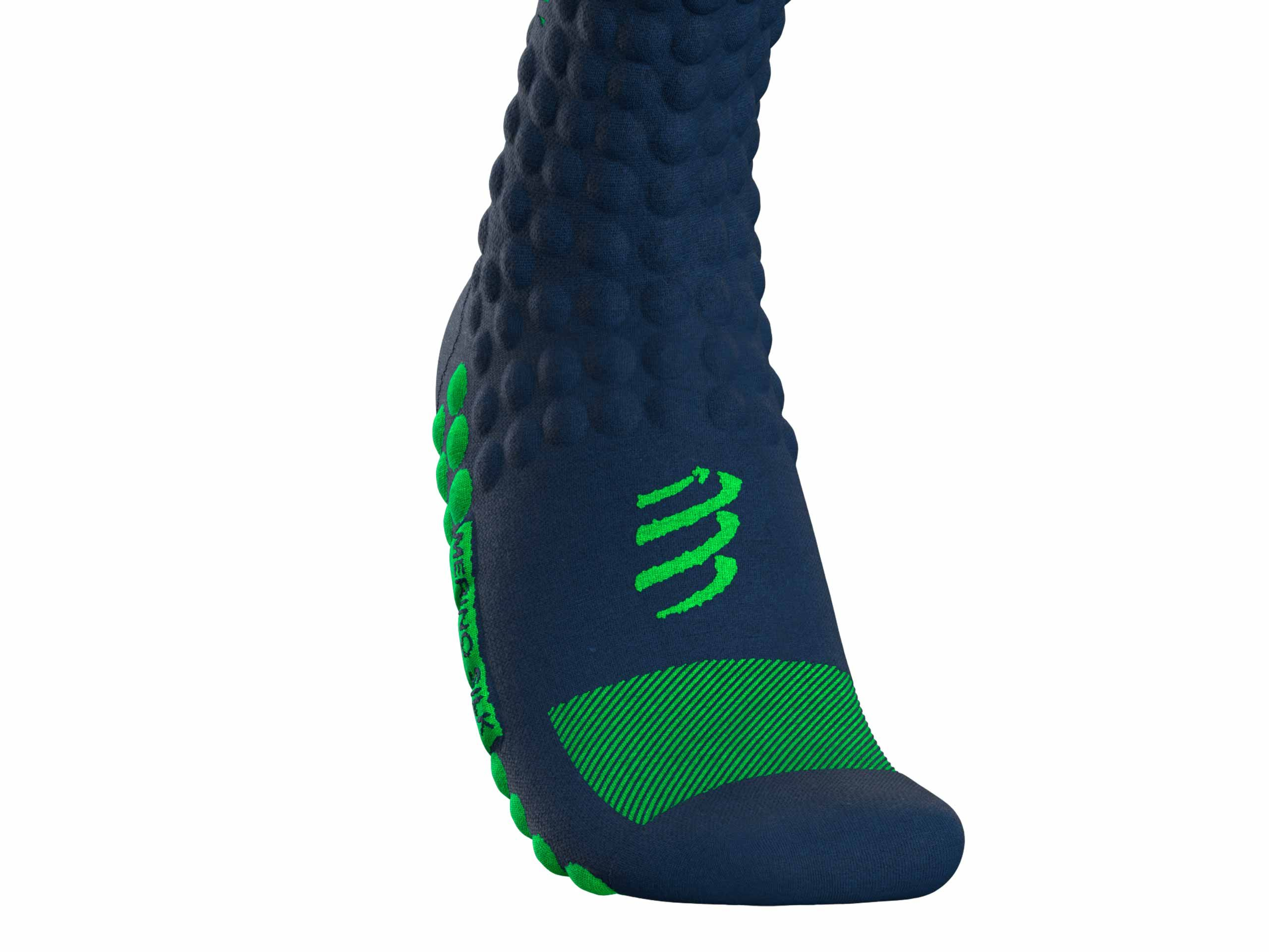 Skimo Full Socks BLUE/LIME