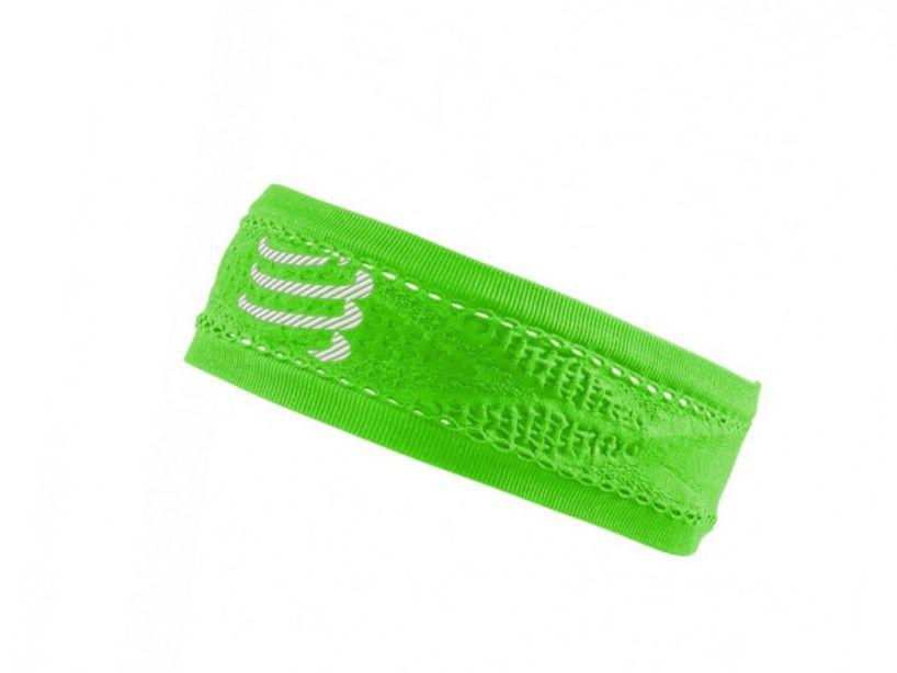 Thin HeadBand On/Off FLUO GREEN
