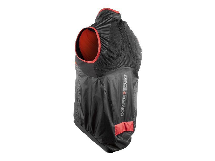 Cycling Hurricane WindProtect Vest BLACK