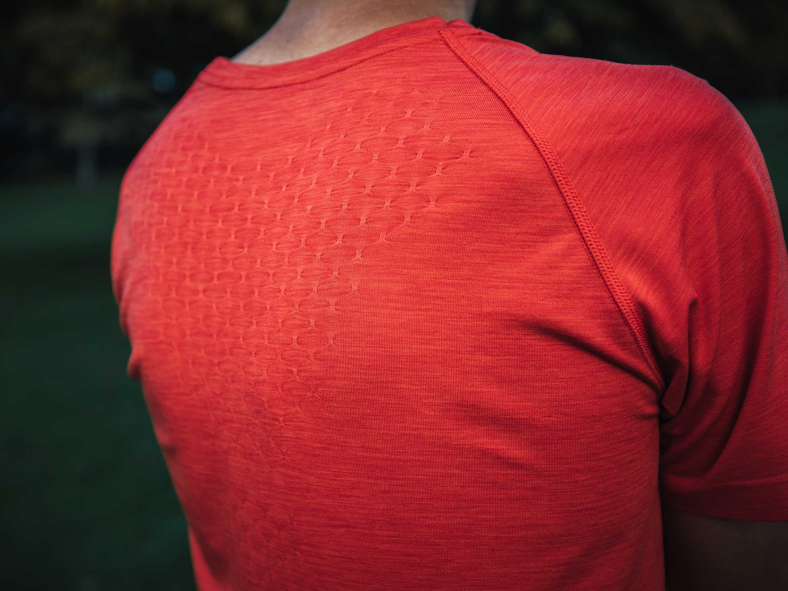 Training SS Tshirt RED CLAY