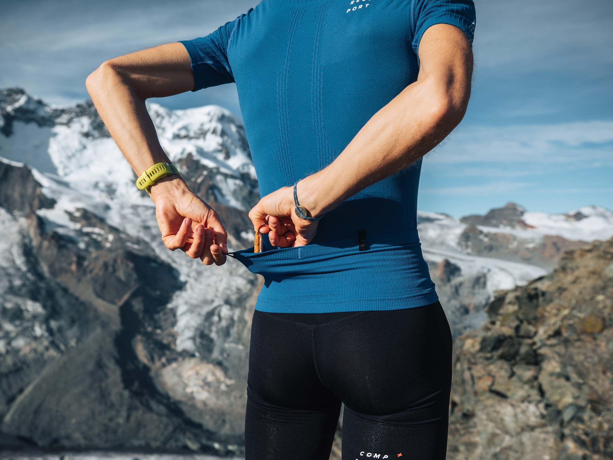 Trail Postural SS Top M BLUE LOLITE