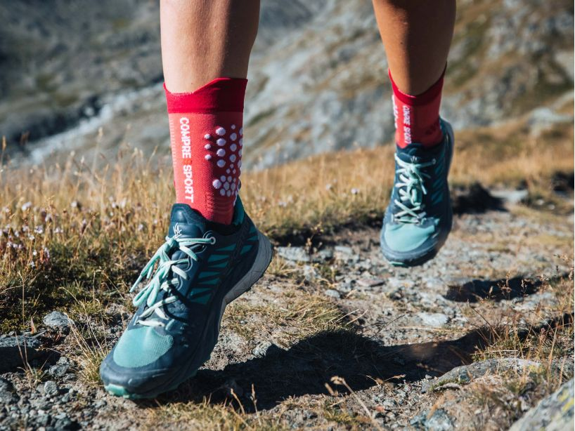 Pro Racing Socks v3.0 Trail GARNET ROSE