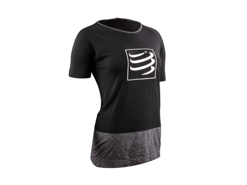 Training Tshirt SS W BLACK